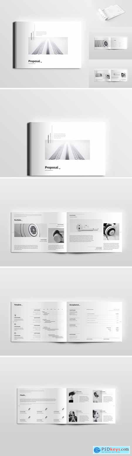 Clean simple minimal Proposal 3117138