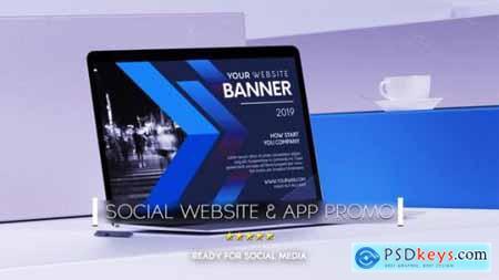 Videohive Social Website Promo & App Promo 24852284