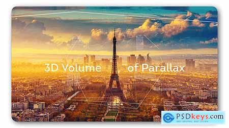 VideoHive 3d Volume Parallax Cinematic Slideshow 18356052