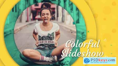 Videohive Colorful Slideshow 22337724