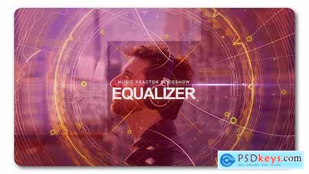 VideoHive Equalizer Music Reactor Slideshow 19501088