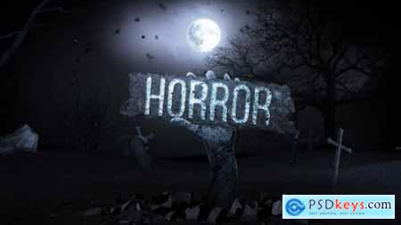 Videohive Halloween Logo Reveal 13254389