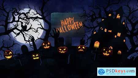 Videohive Halloween Opener 24810239