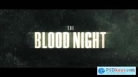 Videohive The Blood Night 24861619