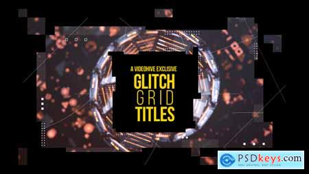 Videohive Glitch Grid Titles 22351560