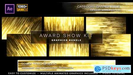 Videohive Awards Show Kit 24867216
