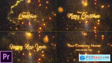 Videohive Christmas Greetings 24867772