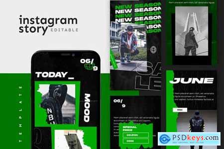Instagram Story Templates Pack