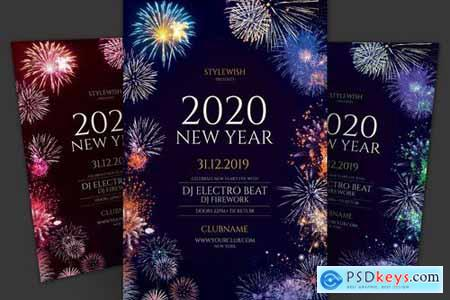 New Year Flyer Pack