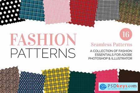 Seamless Fashion and Fabric Patterns