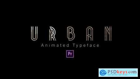 Videohive Urban Animated Typeface 24801436