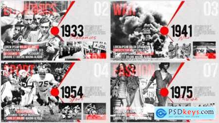 Videohive Moments of History Timeline of Events 24870166