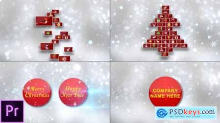 Videohive Christmas Card Premiere Pro 24878081