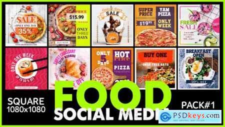 Videohive Social Media FOOD 24871378