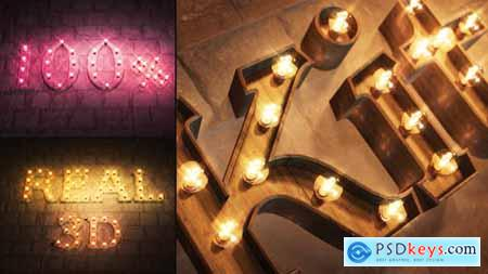 Videohive Real 3D Light Bulb Kit 24849744