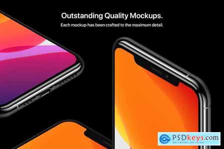 Phone 11 Pro - 20 Mockups Scenes 4122105