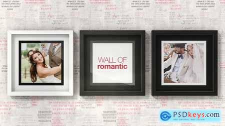 VideoHive Romantic Photo Wall Gallery 15487903