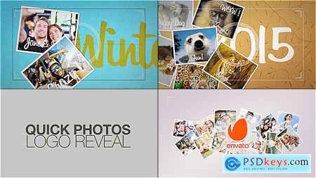 VideoHive Quick Photos Logo Reveal 15844041