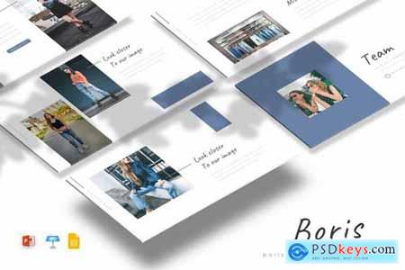 Boris - Powerpoint Google Slides and Keynote Templates
