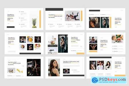 Dieta - Diet Plan Food Powerpoint and Keynote Templates
