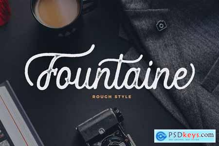 Fountaine Rough Script