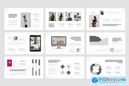Rioust - Interior Design Powerpoint Google Slides and Keynote Templates
