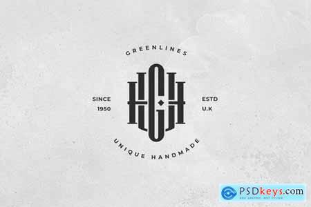 UGH Monogram Logo