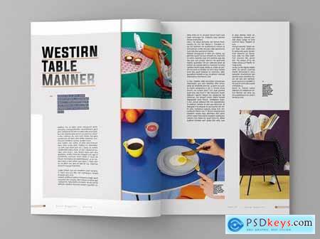 Motive - Magazine Template