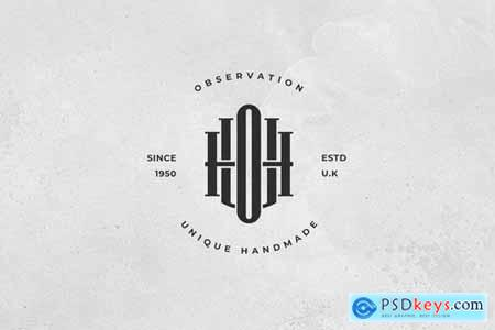 UOH Monogram Logo