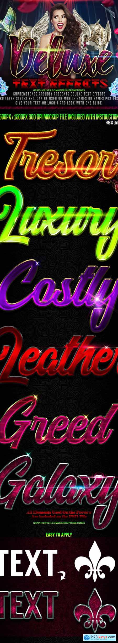 Deluxe Photoshop Text Effects 24716570