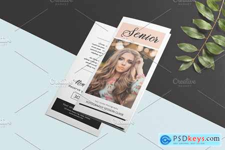 Trifold Photography Brochure - V874 3884576