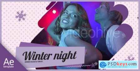 Videohive Winter Party 21163477 Free