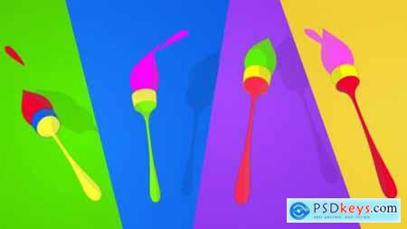 Videohive Playful Brush logo 11965731