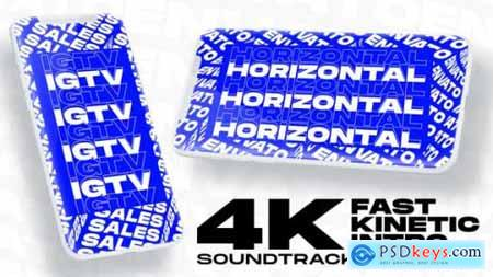 Videohive Kinetic Fast Intro 24271453