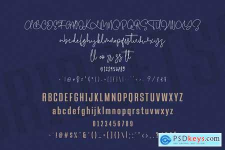 Bridgetts Typeface Free Sans Serif 4202059