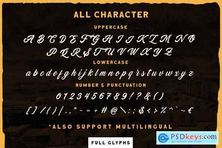 Devilion - Hand Lettering Script 4183925