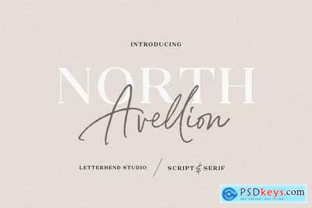 North Avellion - Script & Serif Duo 4223023