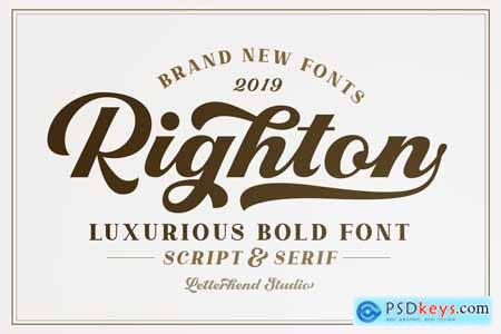Righton - Script & Serif Font Duo 3846563