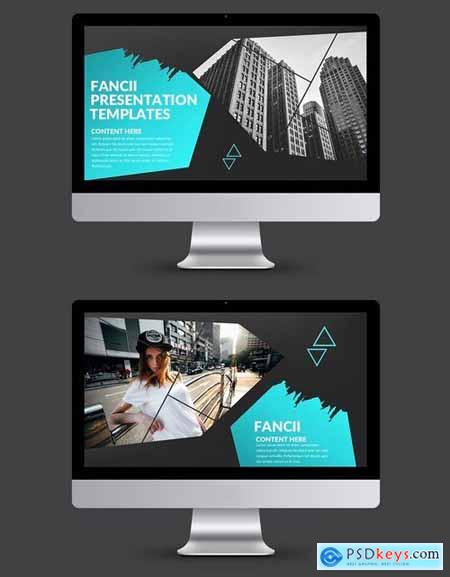 Fancii Powerpoint and Keynote Templatess