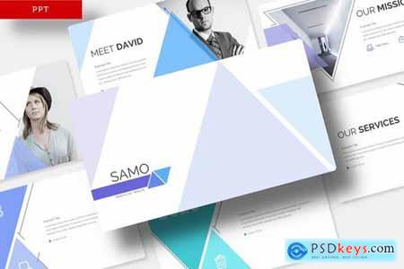 Samo - Powerpoint Google Slides and Keynote Templates