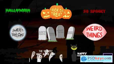 VideoHive Halloween Titles After Effects 24866325
