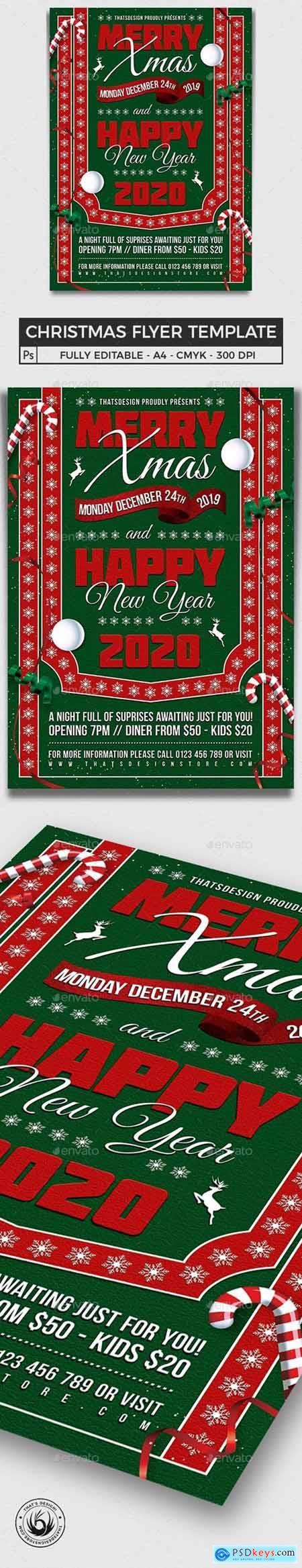 Christmas Eve Flyer Template V10 24875144