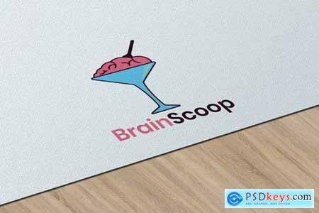 Brain Scoop - Logo Template