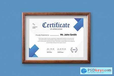 Certificate Template - A4 v6