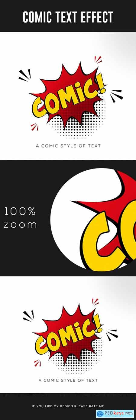 Comic Text Effect 24727263
