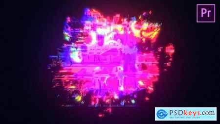 Videohive Glow Glitch Logo Reveal 24883115
