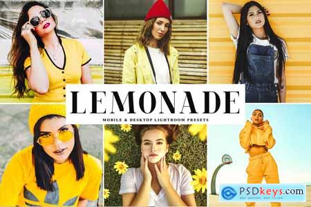 Lemonade Lightroom Presets Pack 4235696