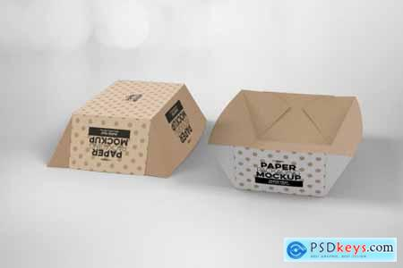 Paper Tray 4 Packaging Mockup