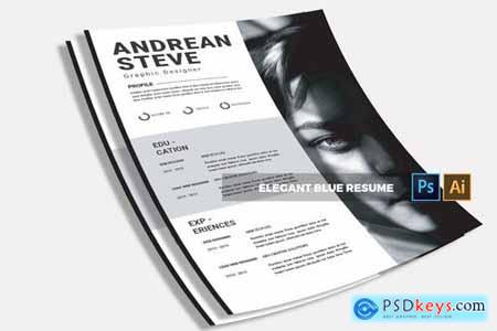 Andrean Resume CV & Resume