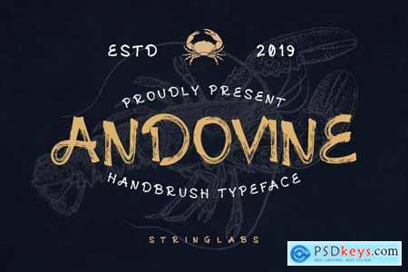 Andovine - Handbrush Typeface 4210176